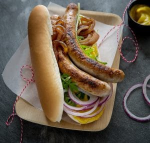 hotdog saucisses de lapin