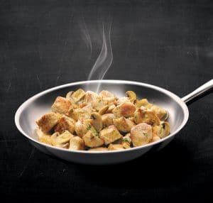 recettee lapin aux champignons